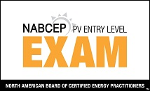 NABCEP Entry Level Solar Exam Training Provider