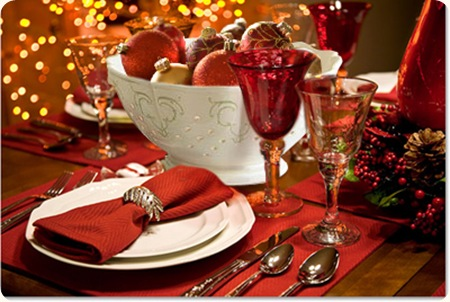 Extraordinary 25+ Holiday Table Settings Inspiration Of Festive ...